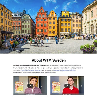 WTMSweden.com website